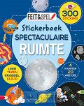 Stickerboek spectaculaire ruimte