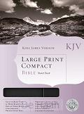 KJV - Compact LP Bible - Snap