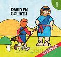 Kleurboek david en goliath